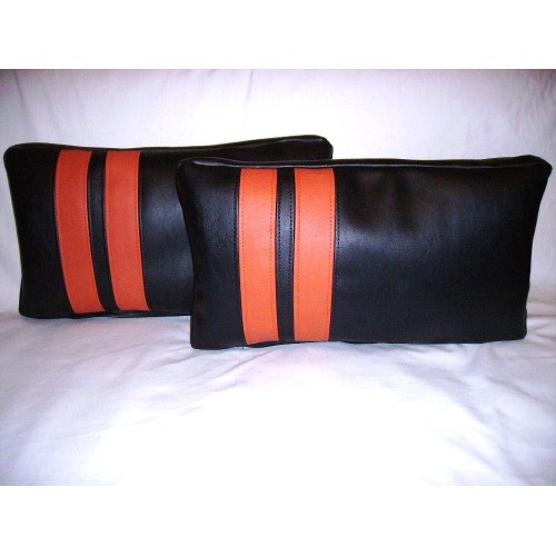 Orange Throw Pillows: Place throw pillows on a bare sofa to spruce up the furniture's design. urgut.ga - Your Online Decorative Accessories Store! Get 5% in rewards with Club O!